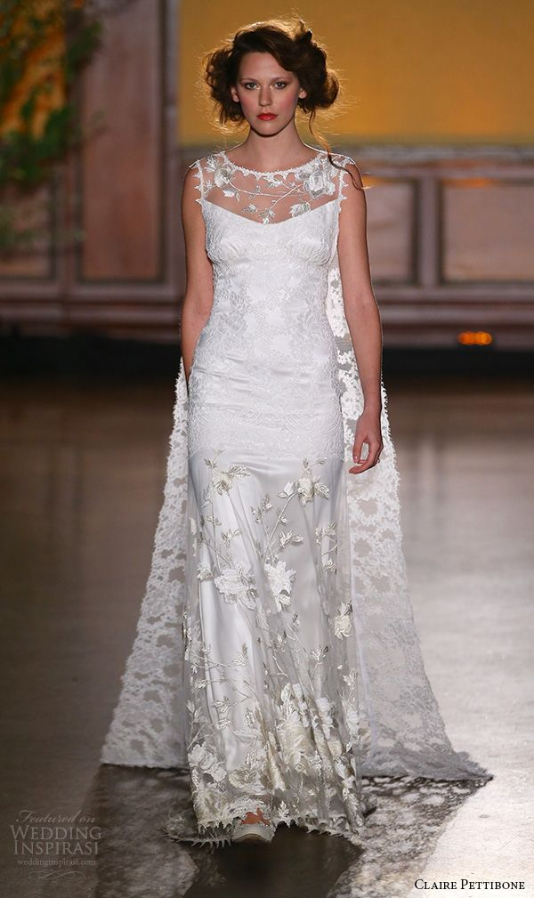 Simple Claire Pettibone Fall Wedding Dresses u The Gilded Age Couture Bridal Runway Show