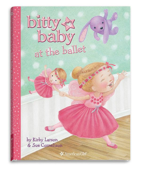Look at this Bitty Baby at the Ballet Book on #zulily today!