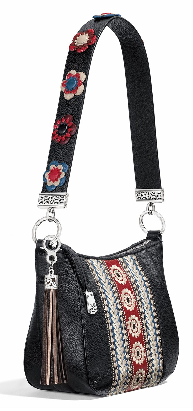 The Petal Pop Strap - When paired with the of the handbags from our Brighton Your Bag Collection, this fleur-ty strap makes an entirely new--and totally fun--style statement. #MyBrightonStyle