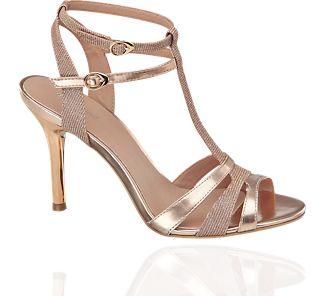 Funky t-bar sandals from Deichmann!