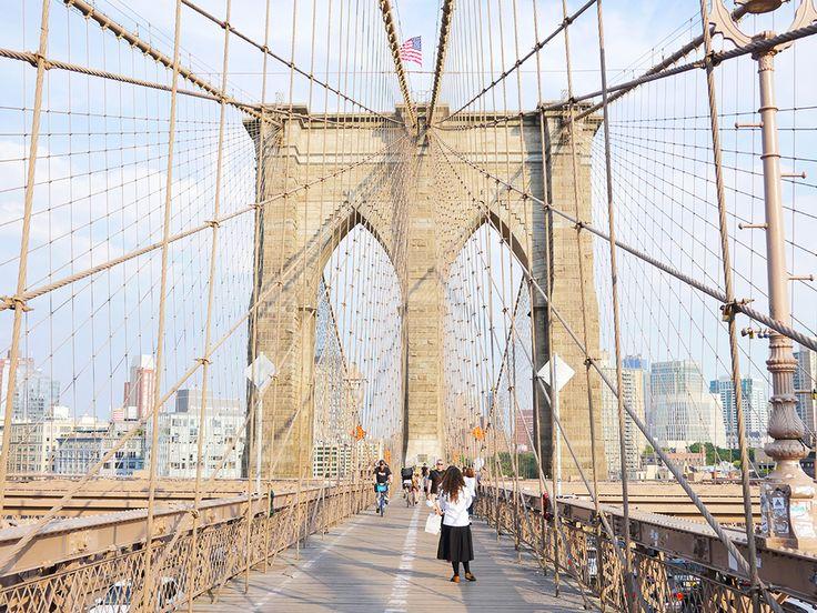 pieces of my new york #lovedahelsinki #newyork #nyc #travel #brooklynbridge