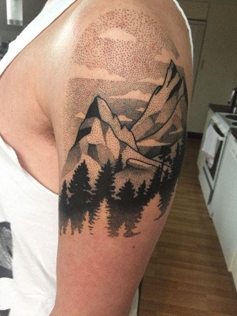 Nature Calls - By Viktor Westberg Catapult Tattoo Stockholm