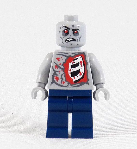 Al The Zombie - Custom LEGO Walking Dead Style Minifigure on Etsy, $14.00
