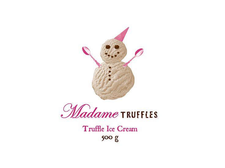 Madame Truffles Design by Name&Name Design & Advertising.