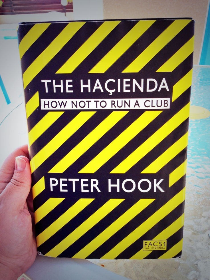 Haçienda Book by Hooky