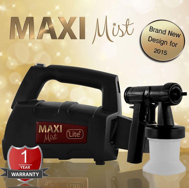 Maximist lite Plus Spray Tan Unit. Designed for home/mobile use (10+ spray tans per day) - Powerful 300 watts single stage turbine - 5 x 250ml Suntana tanning solution (our complete range – FREE) - 1 x 250ml bottle of Maximist organic gun cleaner - 1 year Maximist warranty - Only £79.99 (Includes VAT) - OMG! http://www.suntana.com/product/maximist-lite-plus/