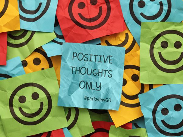Think Positive Desktop Download - #parkviewGO #wallpaper - via @ParkviewHealth