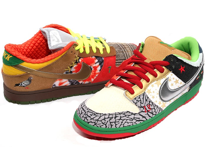 Nike Dunk SB Low – What the Dunk