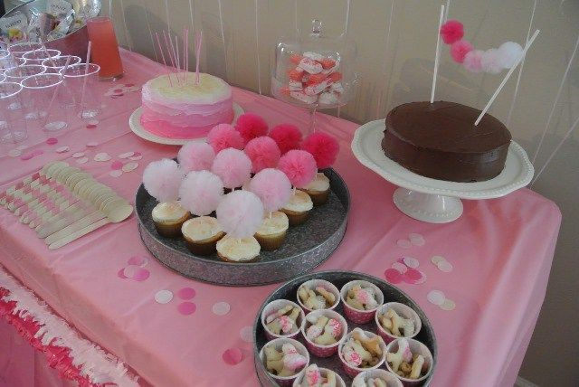 Pink Ombre Party Ideas