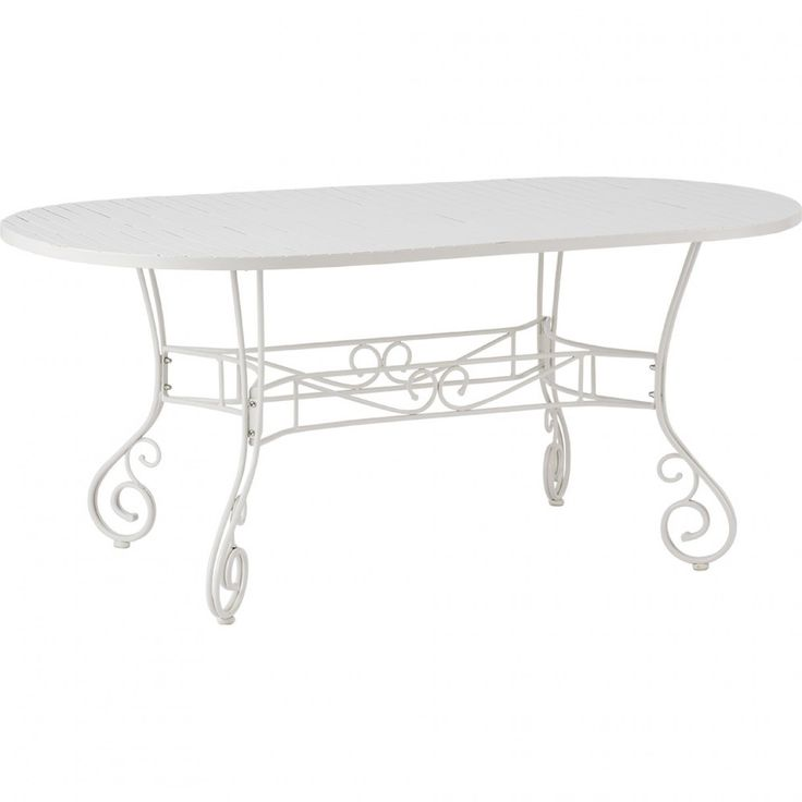 French Bistro Oval Dining Table