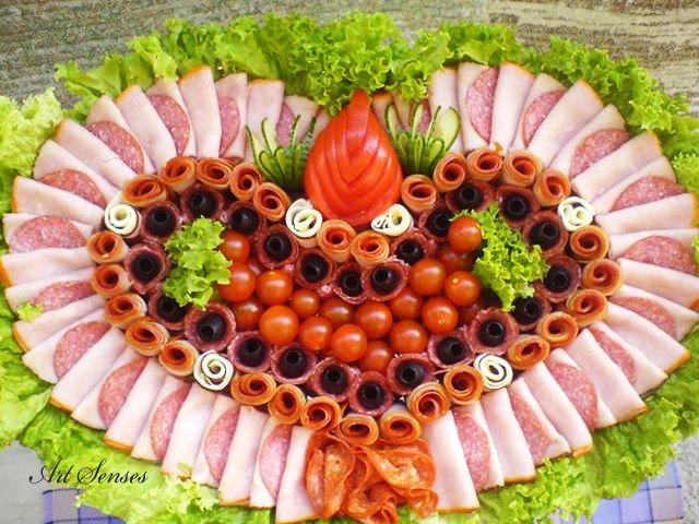 Idéias para organizar e decorar aperitivo   sentidos Arte - idéias artísticas para interior e jardim.