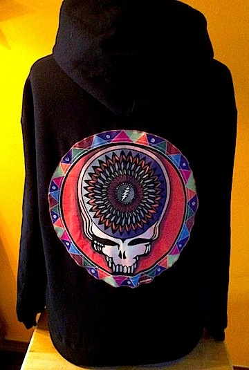Grateful Dead Hoodie by DeadHeadThreads on Etsy, $60.00