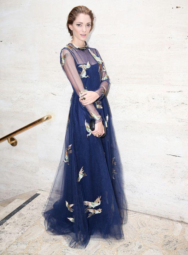 10 Best Dressed: Week of September 22, 2014 – Vogue WHO: Sofía Sanchez Barrenechea  WHAT: Valentino  WHERE: Brazil Foundation Gala, New York City  WHEN: September 18, 2014 Photo: BFAnyc.com