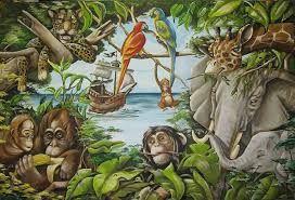 Afbeeldingsresultaat voor jungle dieren