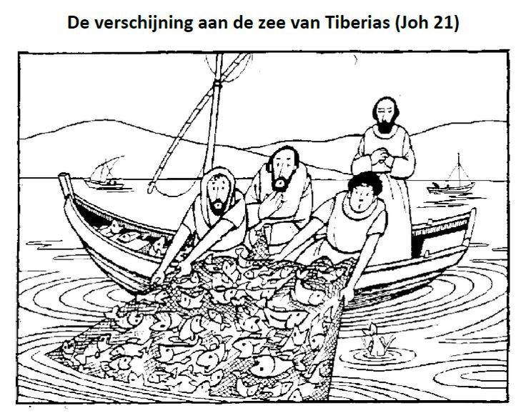 de verschijning aan de zee tiberias pasen