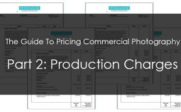 Pricing Commercial Photography