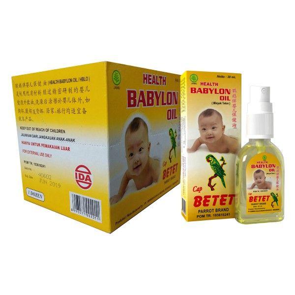 Babylon oil minyak telon Hangat, wangi dan praktis. Minyak telon model spray efektif dalam penggunaan & tidak mudah tumpah.