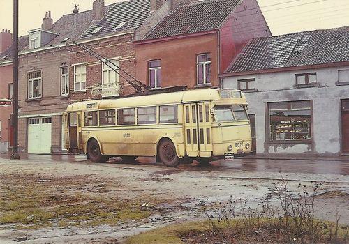 1964 Trolleybus Brussel laatste dienst
