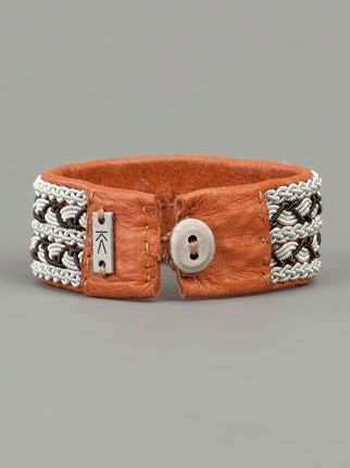 Sami Leather Bracelet - - Farfetch.com