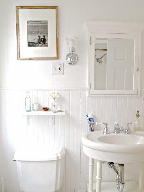 I love everything about ashley tim 39 s minnesota home via design sponge bath pinterest - Design sponge bathrooms ...