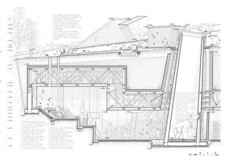 PFC - Centro Artístico Gibralfaro, Málaga - DTF MagazineDesigning the Future | Revista de arquitectura y PFC's