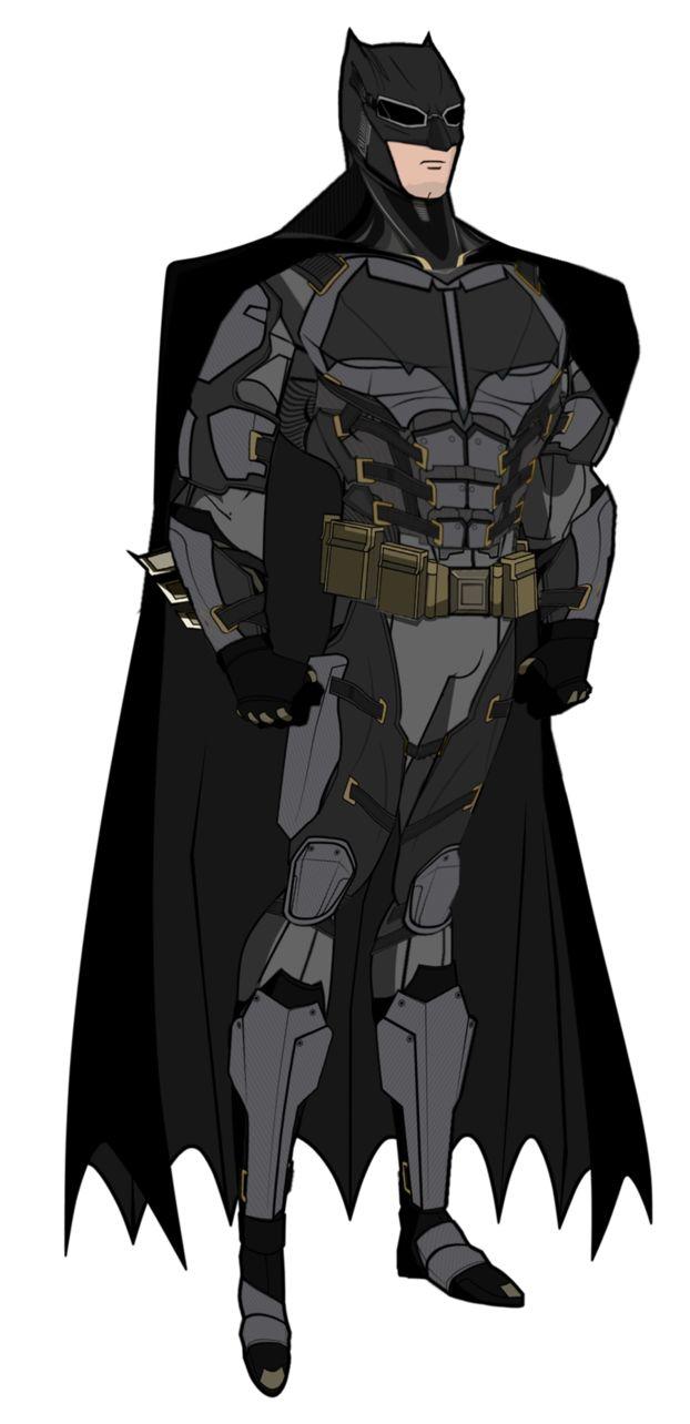 JL Batman Tactical Suit by Alexbadass on DeviantArt