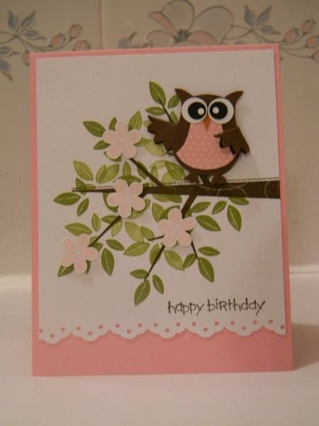 Stampin' Up! 2 Step Owl Punch: