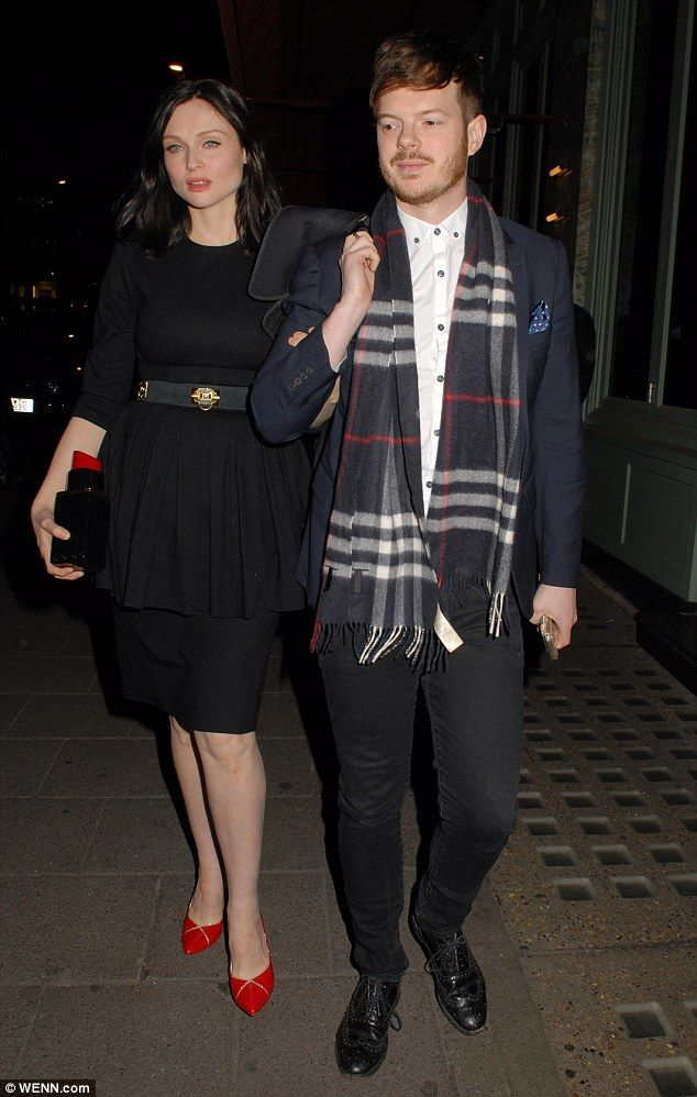 Date night! Sophie Ellis-Bextor stepped out with her husband Richard Jones on Thursday eve...