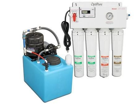 OP350/16-350 GPD Water treatment system with 16 Gallon Tank and RP