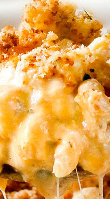 Million Dollar Macaroni and Cheese Casserole