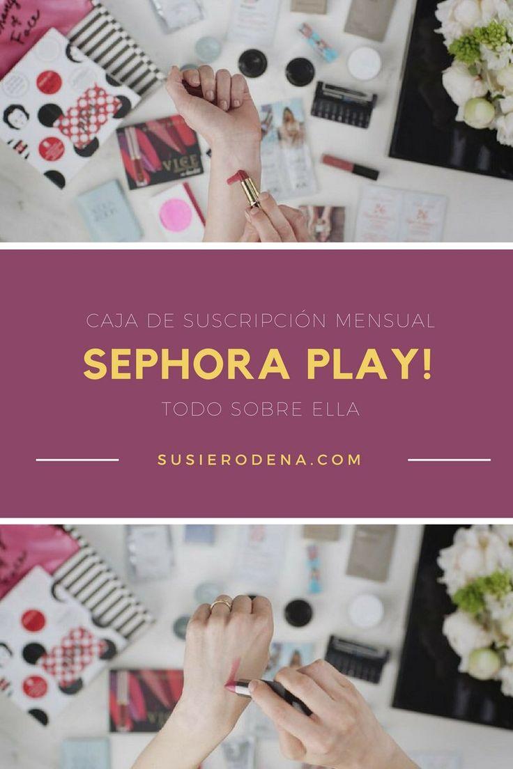 Caja de suscripción mensual de Sephora - Cómo conseguirla #belleza #sephora #consejos