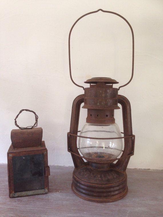 Old Lamp Storm Royalux Oil Lamp Lampe Tempete Huile