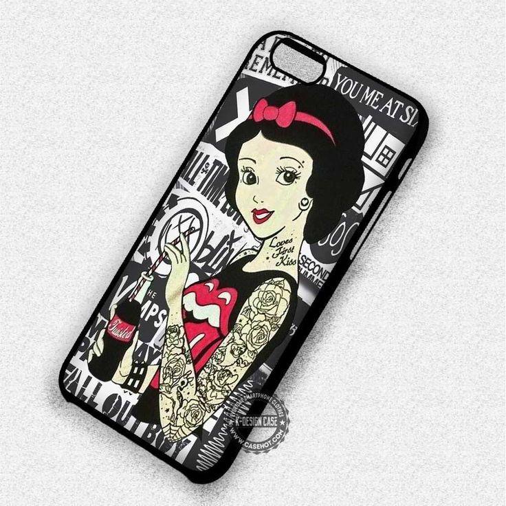 Princess & Tattoo - iPhone 7 6 Plus 5c 5s SE Cases & Covers