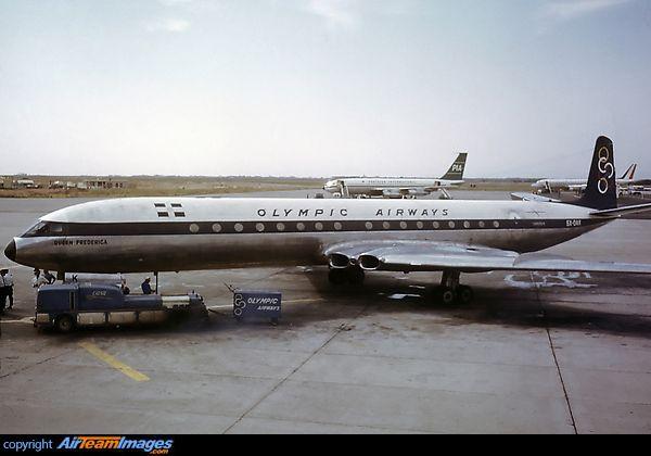 Olympic Airways de Havilland DH106 Comet 4B