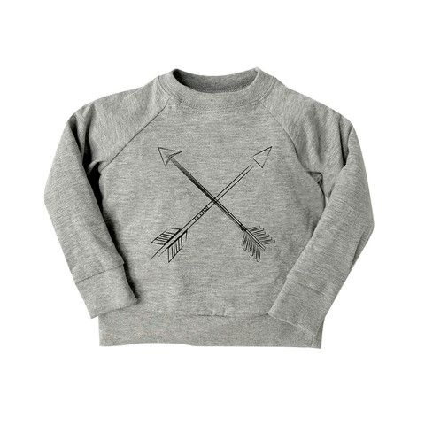 Arrow Print Raglan