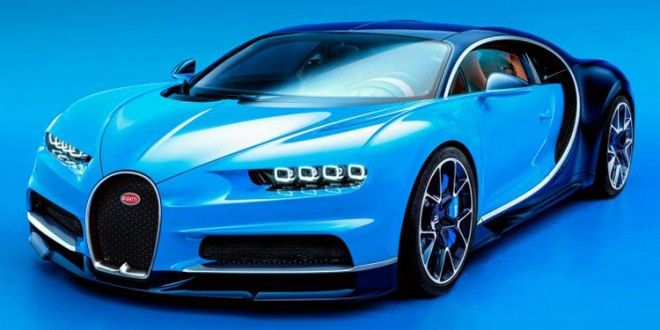 Bugatti Reveals The 1500-hp Chiron: World's Most Powerful, Fastest Production Super Sports Car