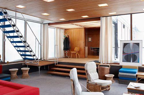 livingroom + stairs + entrance
