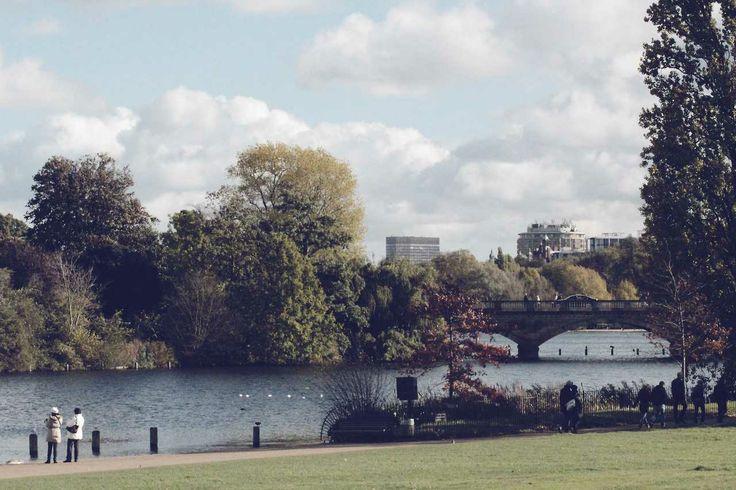 #London #HydePark #Park