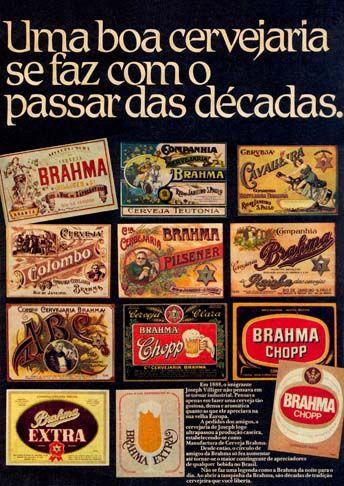 15747 - CERVEJA - BRAHMA - Uma boa Cervejaria se faz com passar