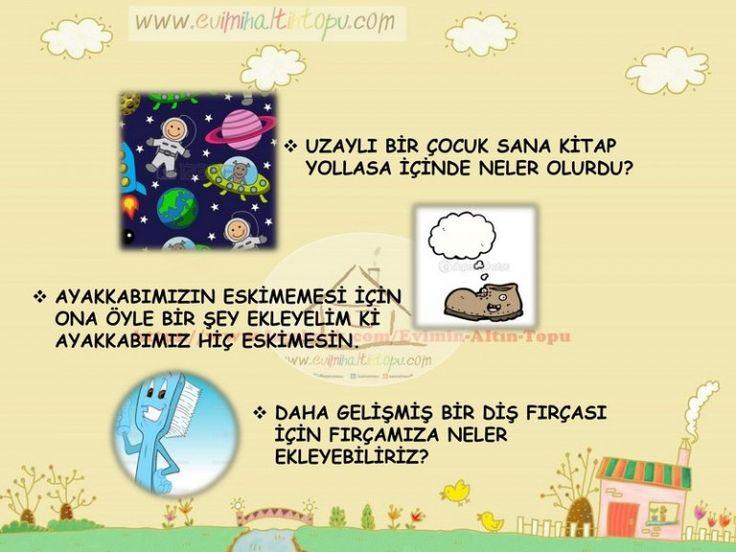 çocukların yaratıcı düşünme becerisini geliştiren sorular (2) | Evimin Altın Topu