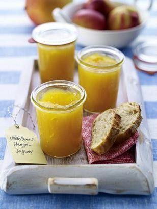 Das Rezept für Nektarine-Mango-Ingwer-Konfitüre und weitere kostenlose Rezepte…