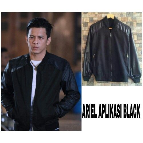 #grosirjaket ARIEL APLIKASI BLACK,bahan Fleece combi oscar hrg 55k, www.ramailancar.com www.facebook.com/tokobajurajutmurah 0857 2212 6318