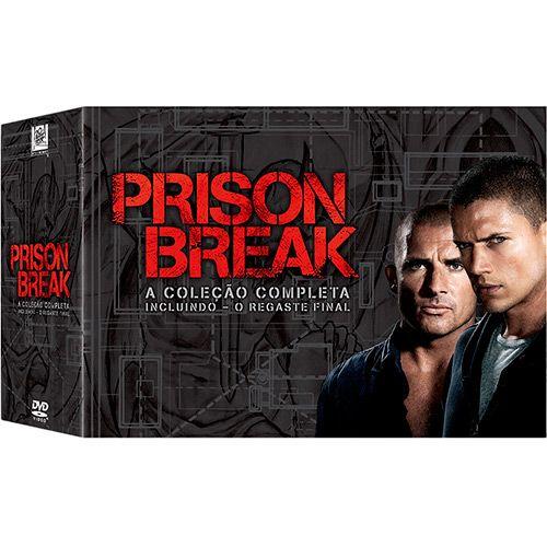 DVD - Prison Break: A Coleção Completa Incluindo - O Resgate Final (23 Discos)