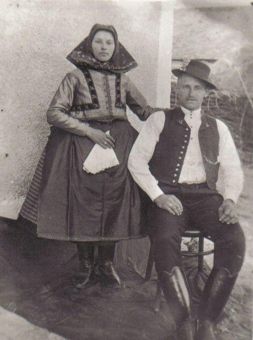Püspökhatvani házaspár.