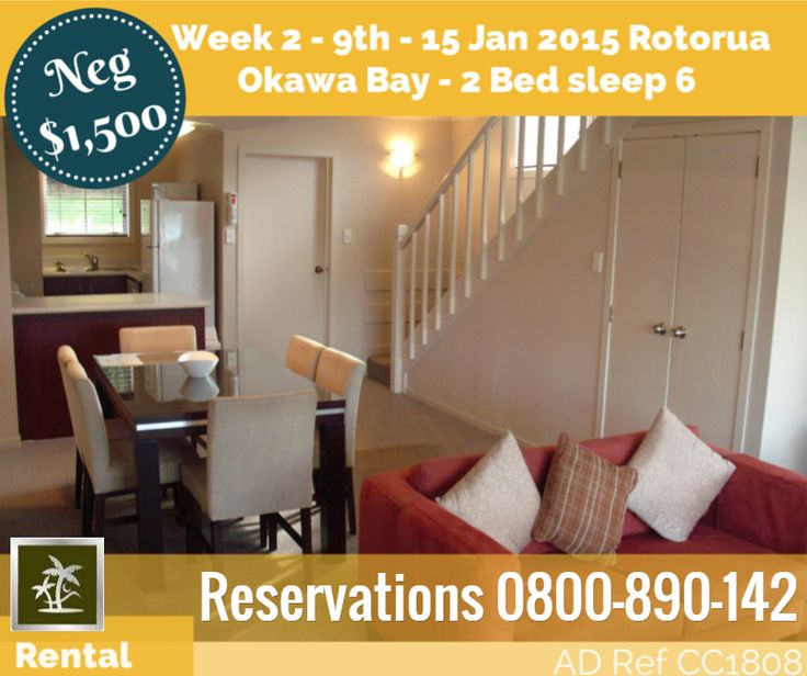 Week 2 9th - 15th Jan 2015 Reservations 0800-890-142