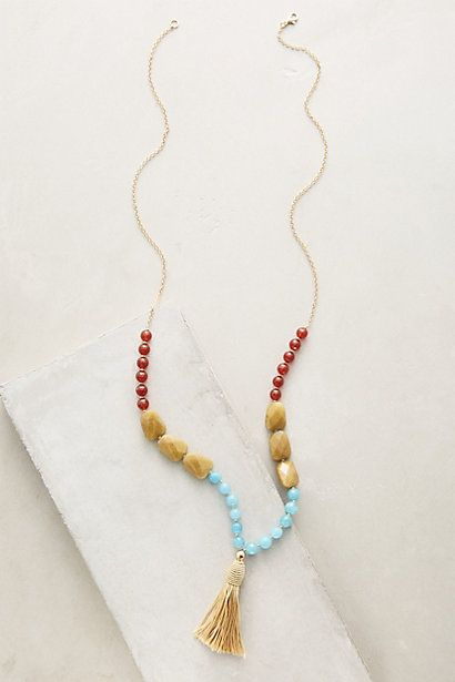 Lalia Tassel Necklace #anthropologie