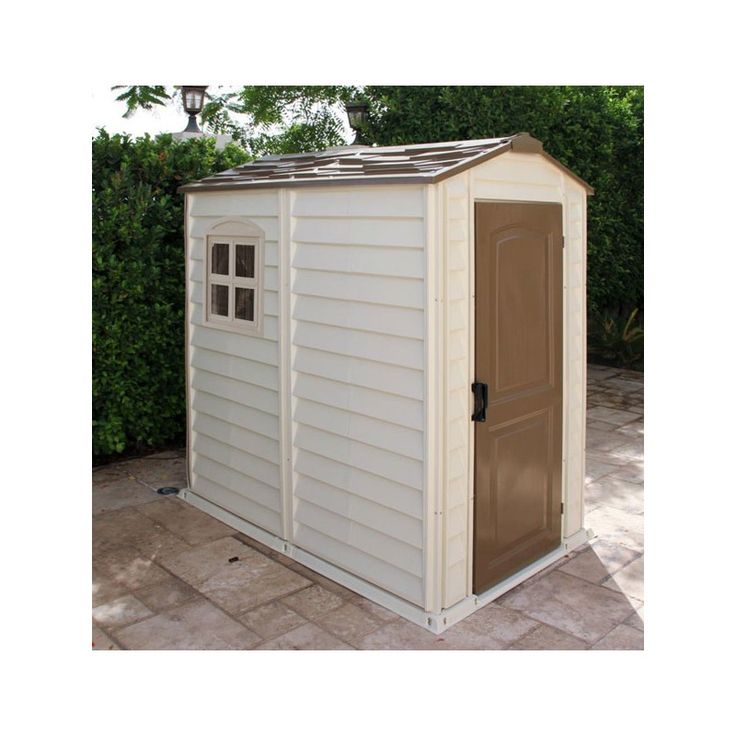 Wonderful Abri De Jardin Plastique #7: Abri De Jardin En PVC WoodStyle Premium 2,04m² Duramax Sur Mon-abri-