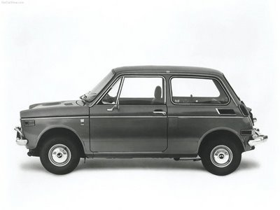 1967 Honda N600 (the 1969 N600 was the first Honda automobile in America)