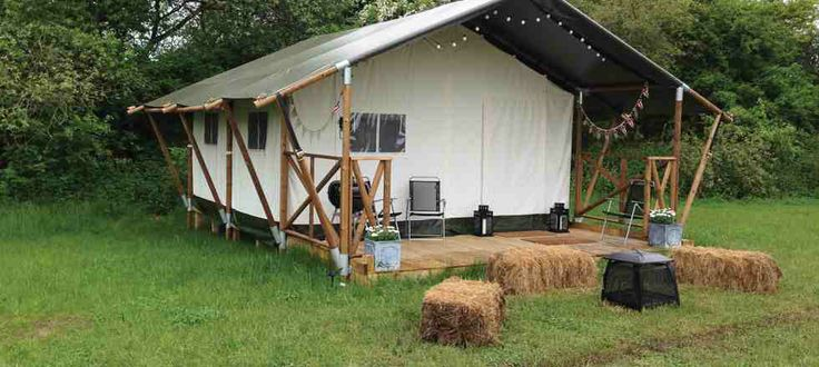 Glamping Suffolk and Norfolk at Hidden Meadows