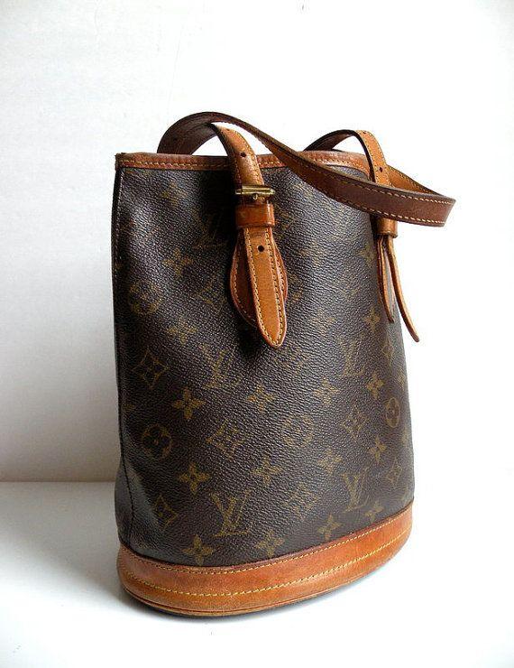 Vintage Louis Vuitton Bucket Bag love is old style plz ...